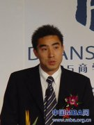 曹章武表示练好内功是企业核心